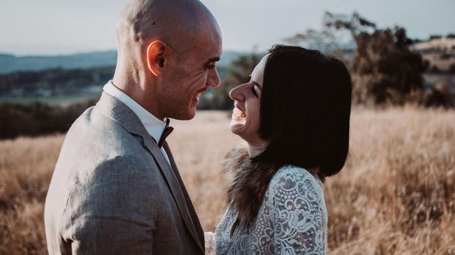 Un couples de marié à génissieux