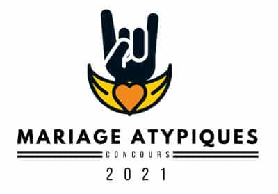 Logo du concours mariage atypique 2021