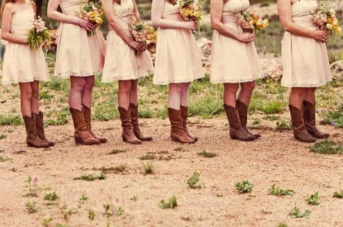 Les mariages Country