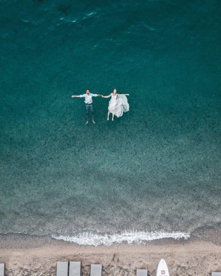 Mariage thème plage et mer