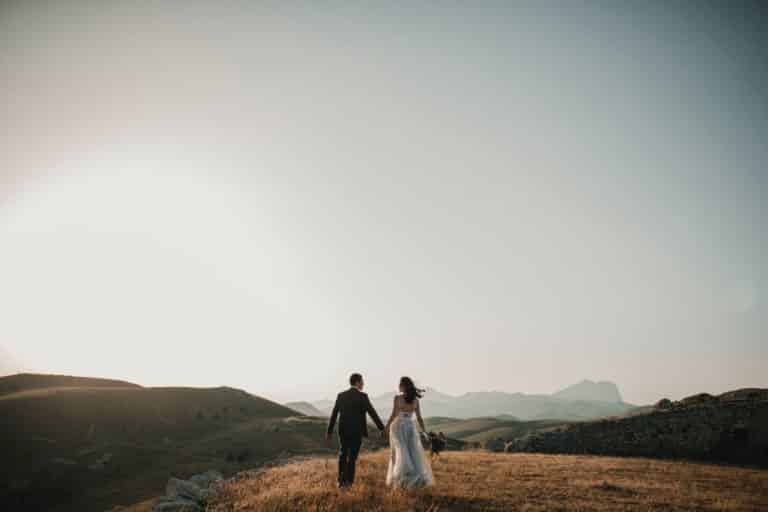 Un mariage thème montagne été – hiver