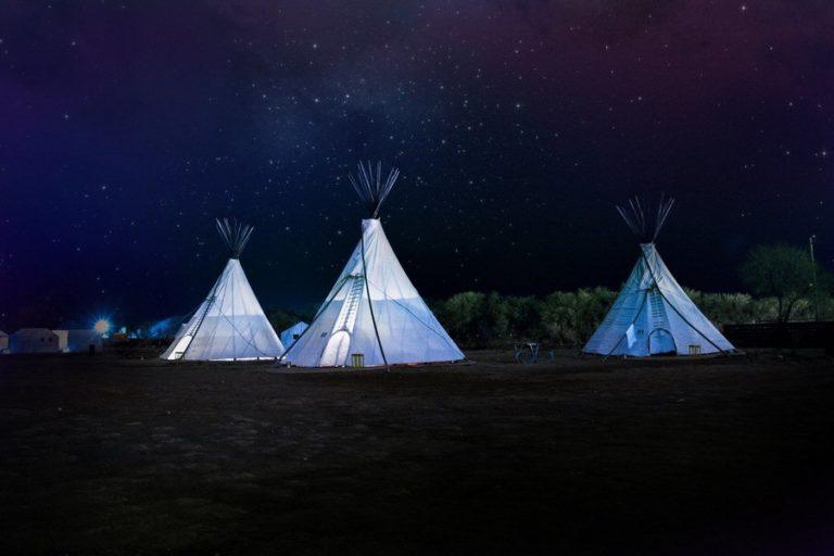 Un mariage indiens d'Amérique : Une cérémonie terre et vie
