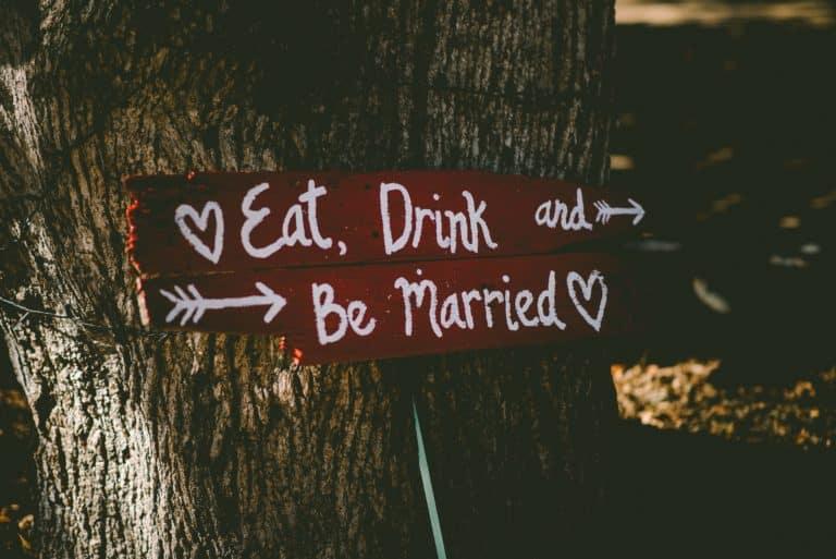 Mariage thème la gourmandise